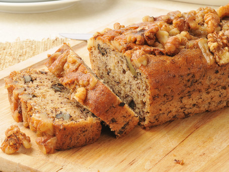 Hungarian Whole Grain Banana       Bread with Wall Nuts
