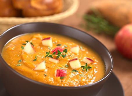 Hungarian Apple Potato Soup