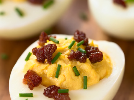 Hungarian Deviled Eggs with Smoked Paprika