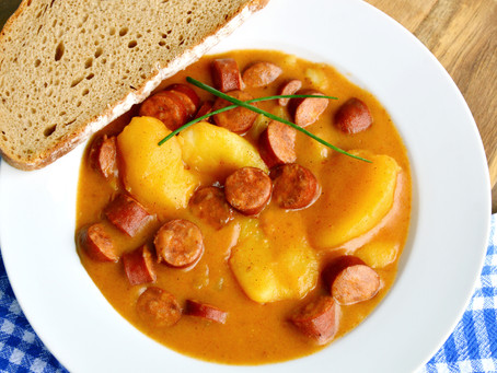 Hungarian Potato and Sausage Soup