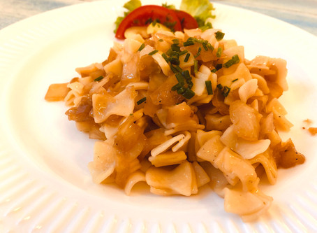 Hungarian Noodle with Cabbage