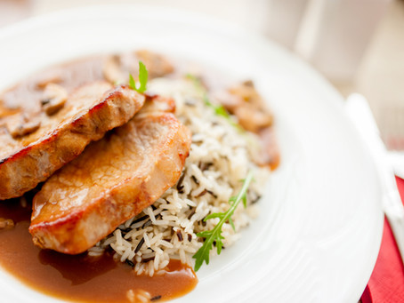 Hungarian Pork Chops With Rice