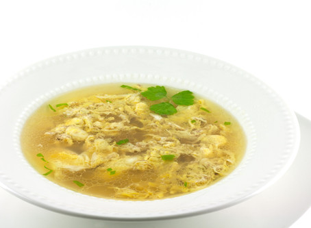 "Hungarian Egg Drop Soup        ""Tojásleves"""