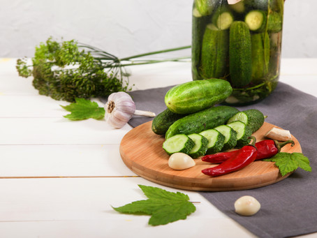 Hungarian Healthy Fermented Cucumber