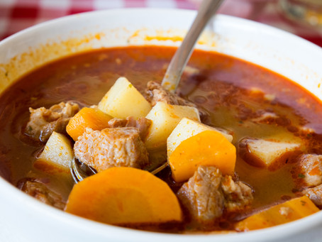 Hungarian Beef Soup