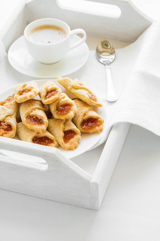 Hungarian Apricot Christmas Cookies