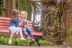 outdoor children portrait