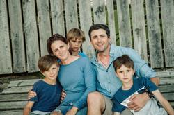 family outdoor photo shoot Auckland