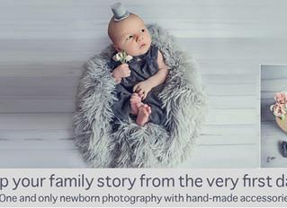 Custom-made newborn photography