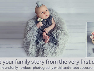 Custom-made newborn photography