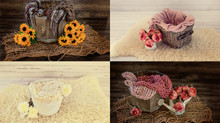 Colour schemes in newborn photography