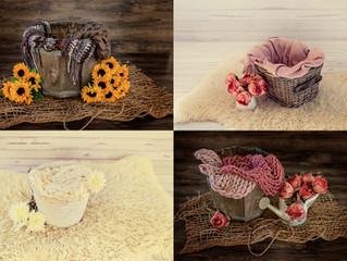 Colour schemes in newborn photography