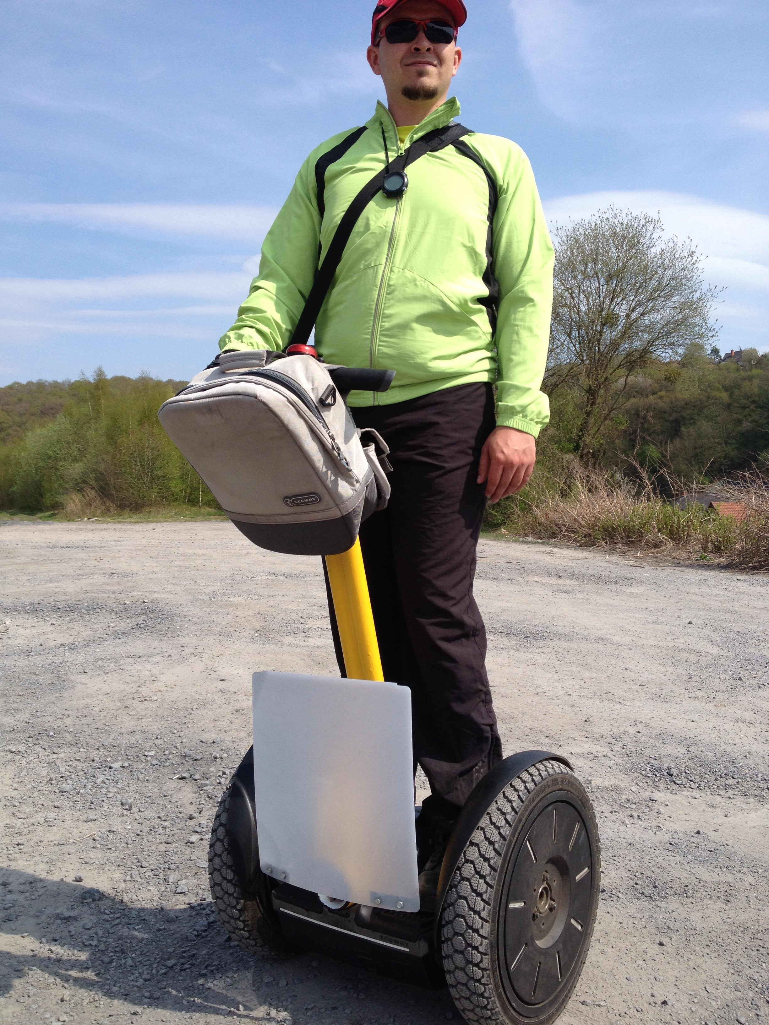 Moniteur/Guide Segway