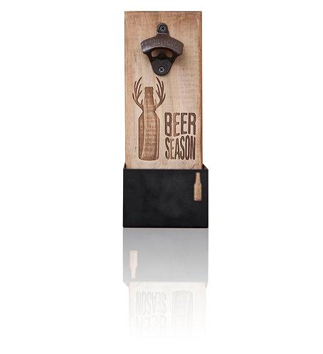 Abre cervezas con caja metálica Beer Season
