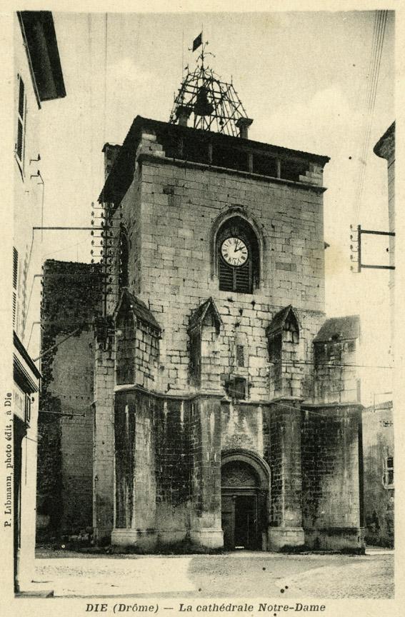 Le clocher-porche vers 1900