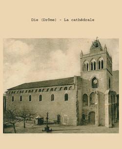 Cathédrale de Die peu après 1933