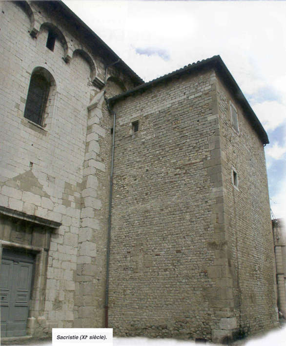 Tour de la sacristie