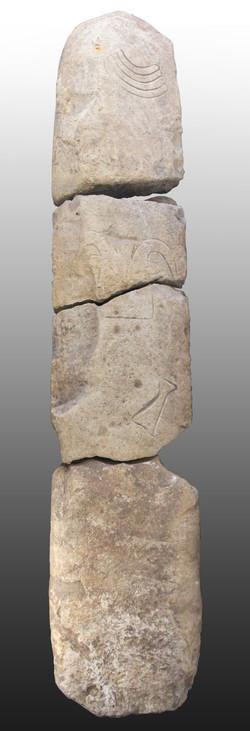 Stèle anthropomorphe néolithique