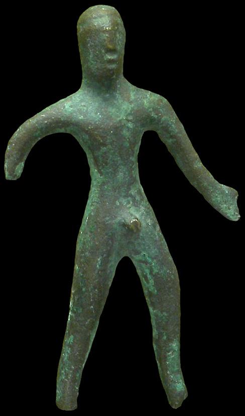 Gallic statuette