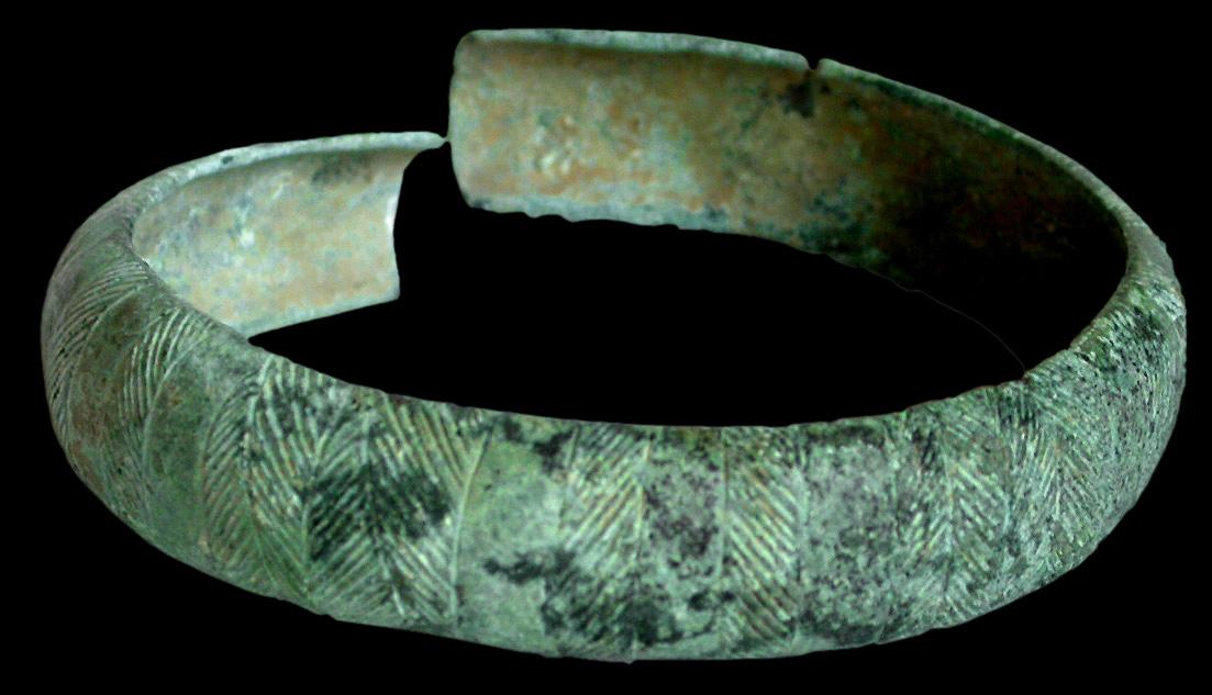 Bronze bracelets
