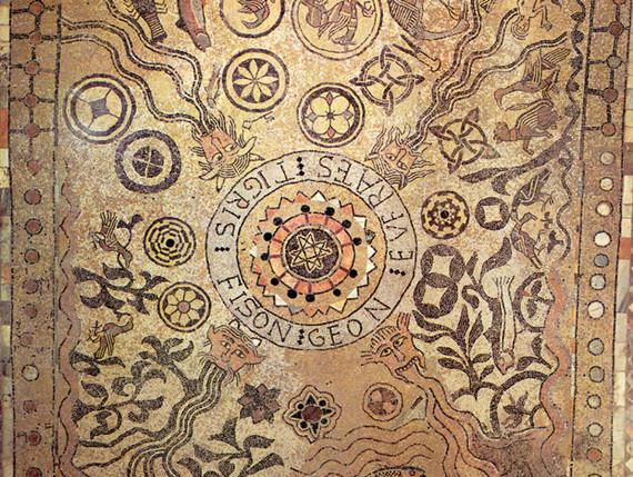 La mosaïque du 12e siècle
