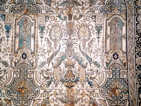 Les papiers peints du 18e siècle