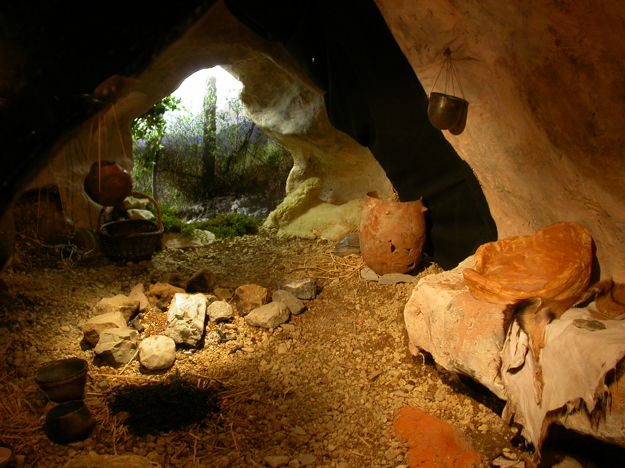 Neolithic cave