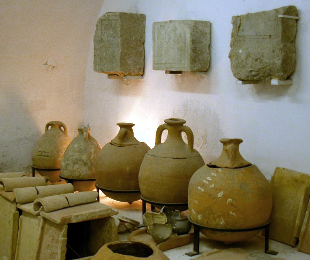 Funerary amphoras