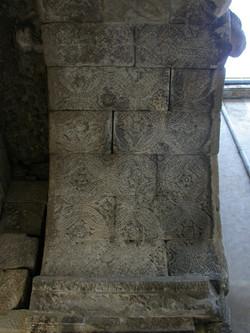 Voûte décorée de l'arc