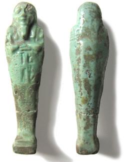 Ouchebti égyptiens donnés par la Société d'Archéologie Française