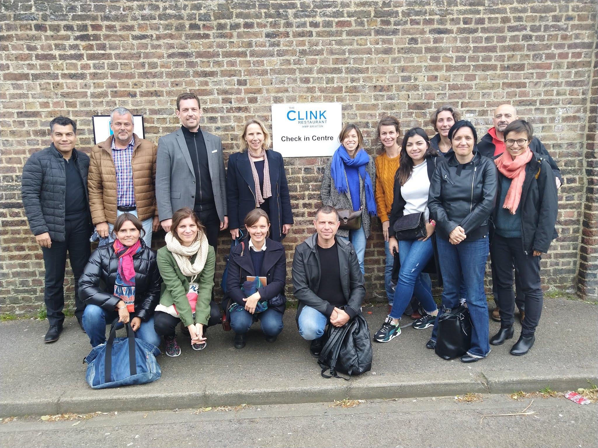 Visite de TheClink à Londres