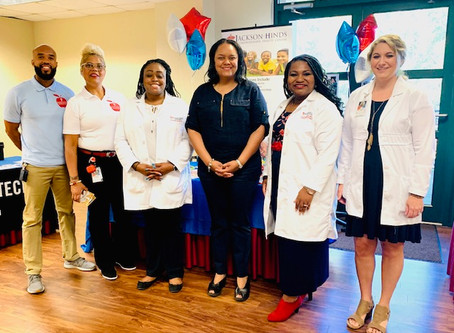 Jackson-Hinds Comprehensive Health Center School-Based attends Ninth Annual Teen Summit.