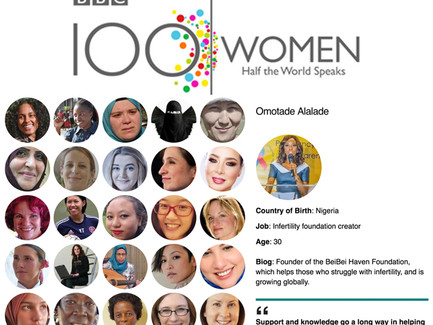 "Omotade Alalade make BBC's ""100 Women"" List for 2016"