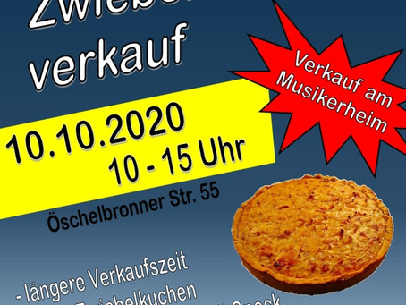 Zwiebelkuchenverkauf