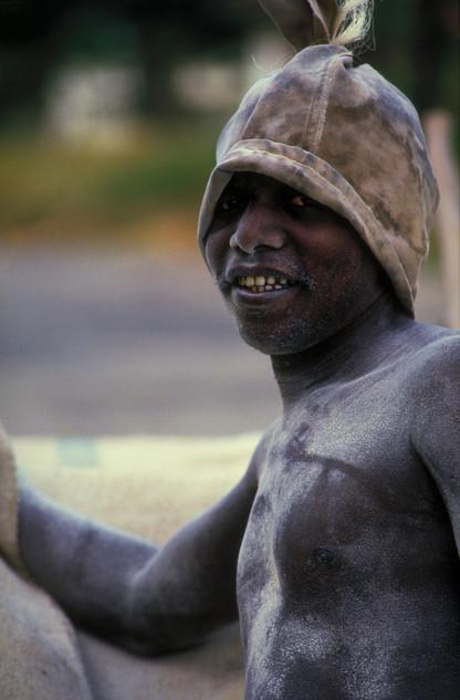 Worker in Kenya