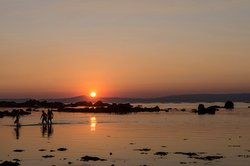Sunset in Galicia