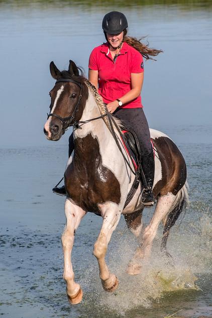 Rider in Dyrehaven