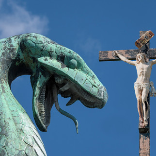 The dragon and jesus