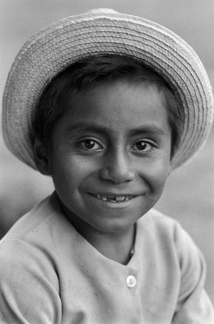 Boy from the highlands in Guatamala
