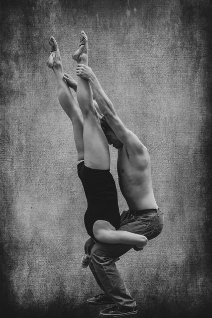 Street acrobats
