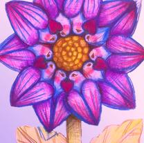 Lovebird Sunflower 2
