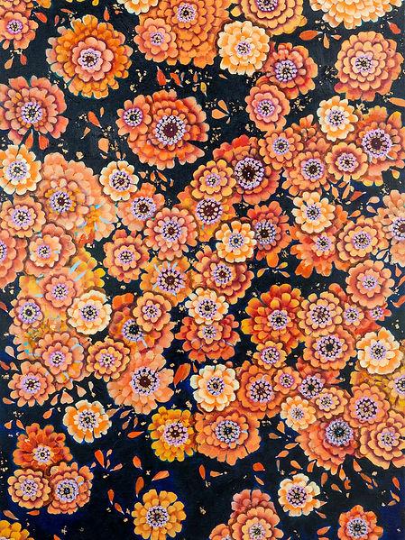 Cascading Marigolds