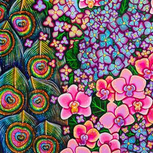 Abundance of Blooms (Detail)