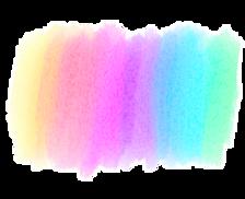 rainbow color paint smear