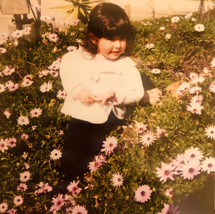 Baby Ana in the Flowers
