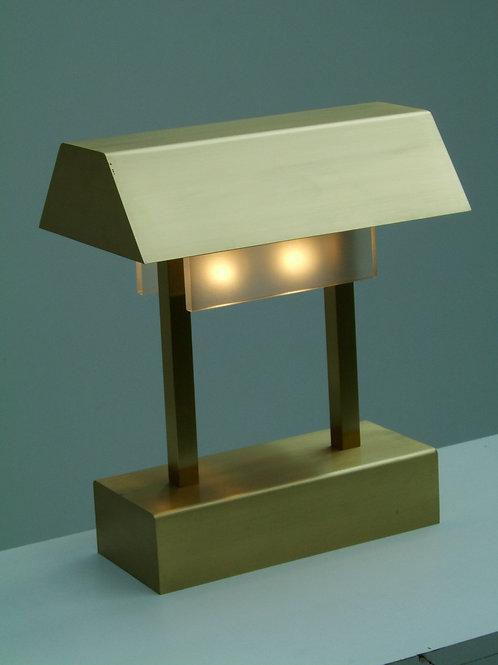 Tischlampe aus Messing