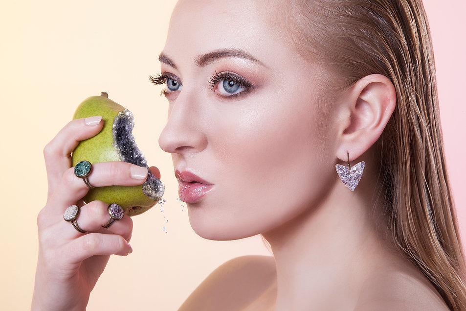 fresh advertising jewelry beauty photography