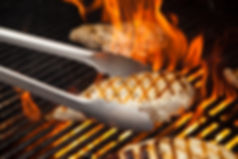 fire chicken grill Amazon Product Photography