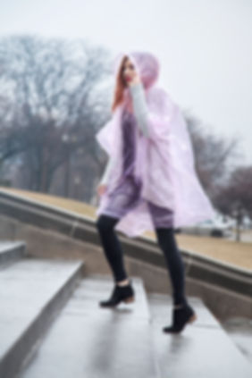 Rain Poncho Amazon Product Photography