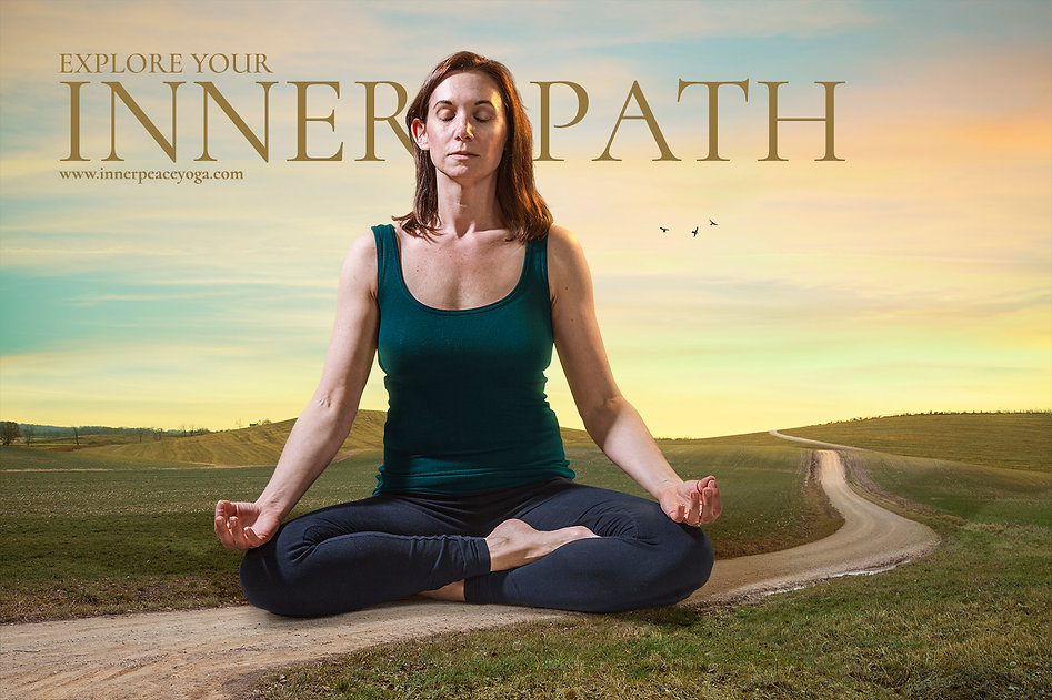 indianapolis yoga meditation advertising photography